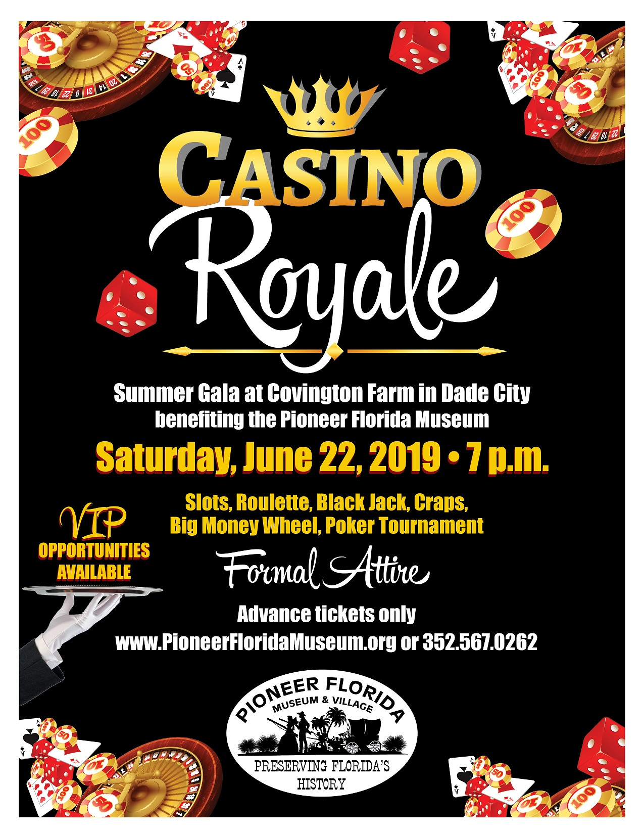 Casino Royale 2019 Flyer small
