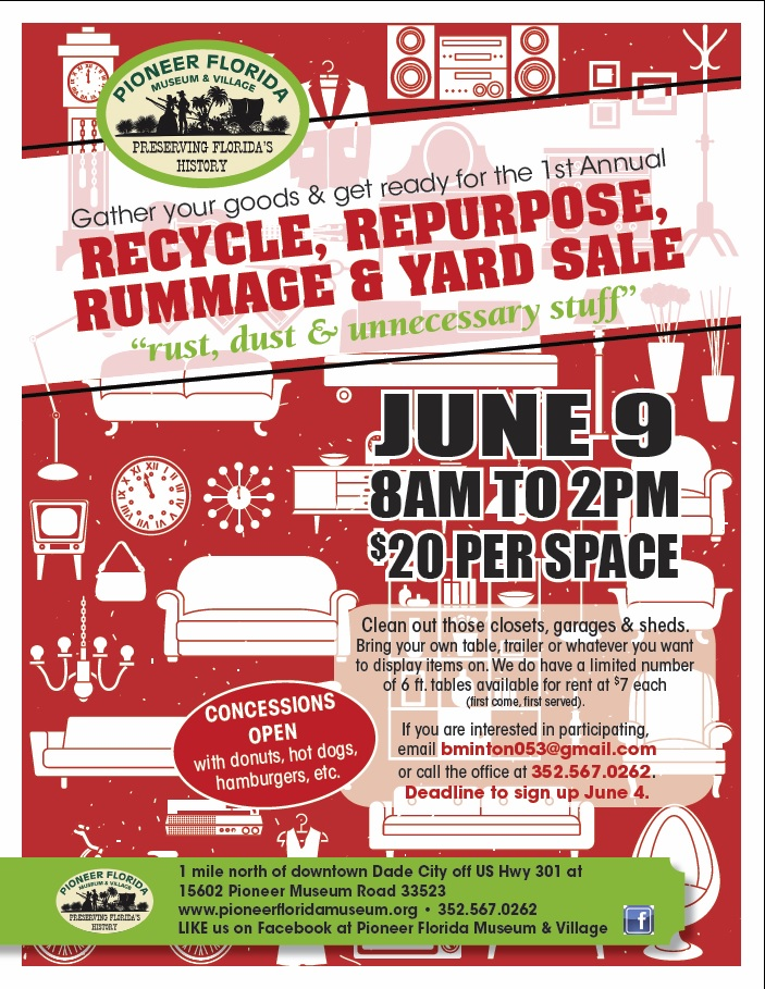 Rummage Sale June 2018