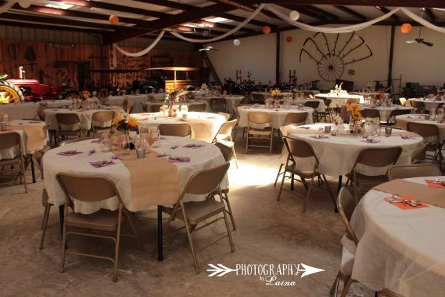 pioneer museum barn wedding reception